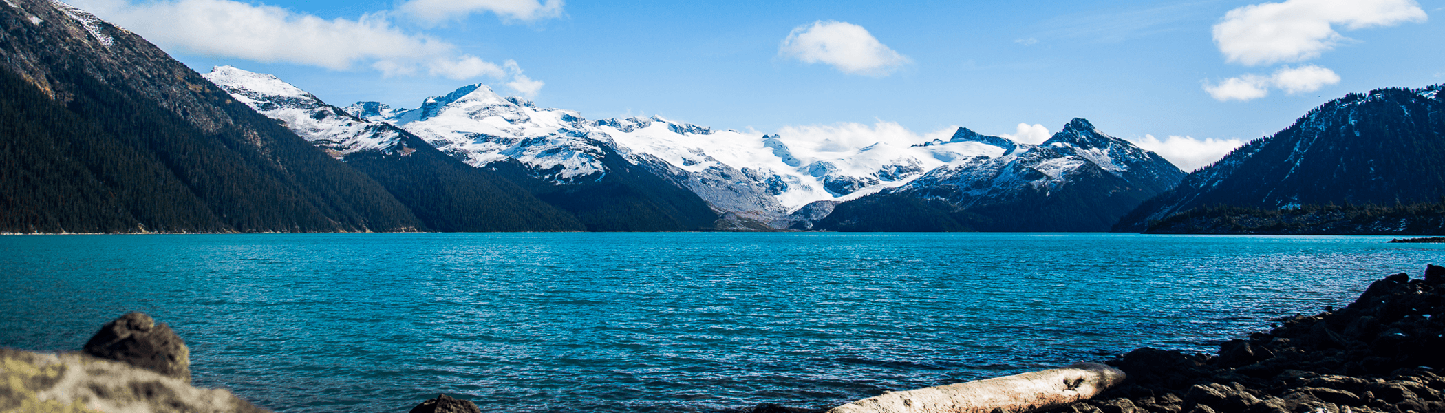 The Garibaldi Lake in all of his colors. Probably one of the most beautiful lakes in Canada.
