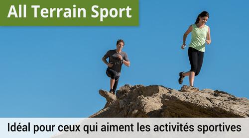 LOWA All Terrain Sport, Idéal pour ceux qui aiment les activités sportives.