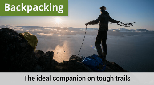 LOWA Backpacking, The ideal companion on tough trails