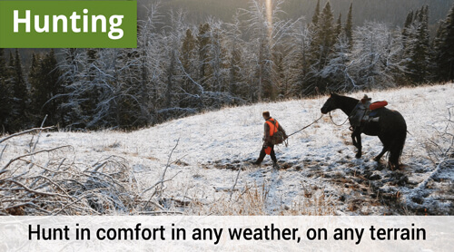 LOWA Hunting, Hunt in comfort in any weather, on any terrain