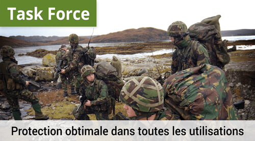 LOWA Task Force, Protection optimal dans toutes les utilisations