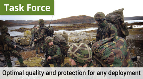 LOWA Task Force, Optimal quality and protection for any deployment.