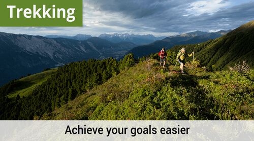 LOWA Trekking, Achieve your goals easier.
